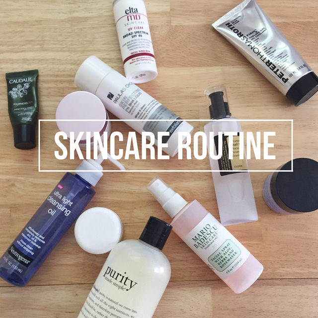My Current Skincare Routine